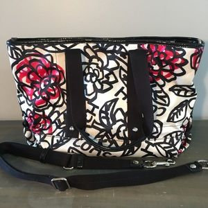 Coach Poppy Floral Graffiti bag
